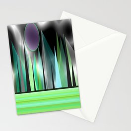 Northern Lights - Landscape Stationery Cards