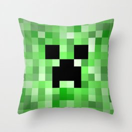 Creepy Creeper! Throw Pillow