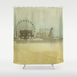 Seaside Heights Fun town pier New Jersey Shower Curtain