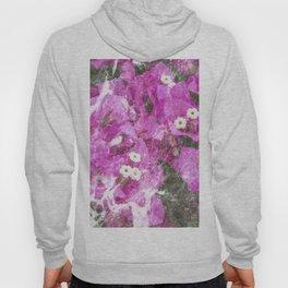 Pink flowers marble Hoody