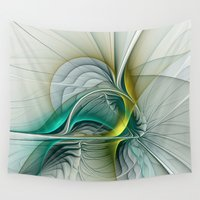 evolution Wall Tapestries featuring Fractal Evolution by gabiw Art