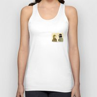 the royal tenenbaums Tank Tops featuring The royal Tenenbaums by Little cabin on the hill