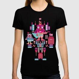 singpentinkhappy band II T-shirt