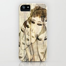 Silence shower iPhone Case