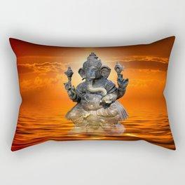 Elephant God Ganesha Rectangular Pillow