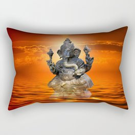 Elephant God Ganesha Rectangular Pillow