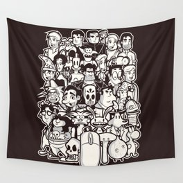 Point and Click  Wall Tapestry