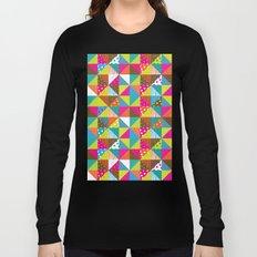 Crazy Squares Long Sleeve T-shirt