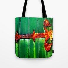 Rustic Hinge Tote Bag