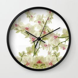 Orchidee fantasy Wall Clock