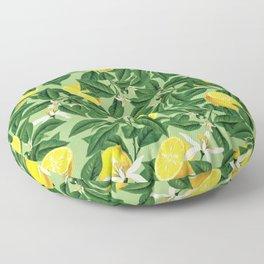 Lemonade || #society6 #decor #pattern Floor Pillow