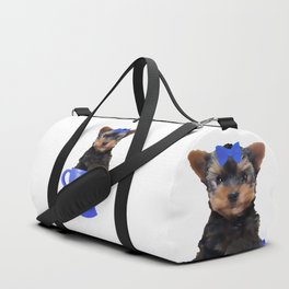 Teacup Yorkie Duffle Bag