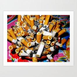ashes Art Print