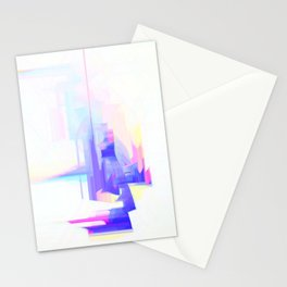 Abstract 9628 Stationery Cards