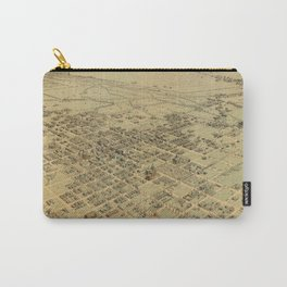 Vintage Pictorial Map of Bakersfield CA (1901) Carry-All Pouch
