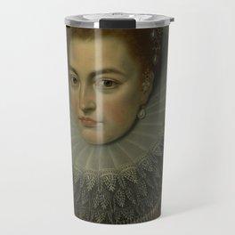 Frans Ii Pourbus  -  Isabella Clara Eugenia Travel Mug