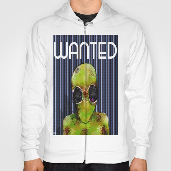 Wanted Alien Hoody