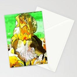 Pop Art Iris Stationery Cards
