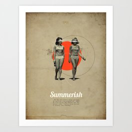 Summerish Art Print