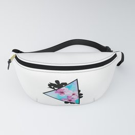 Apple Blossoms Triangle Fanny Pack