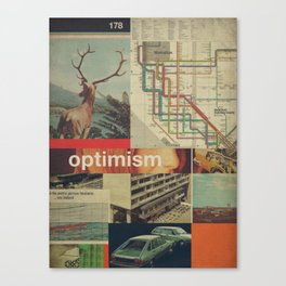 Optimism178 Canvas Print