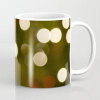 the lights Mugs featuring Lights by Sara