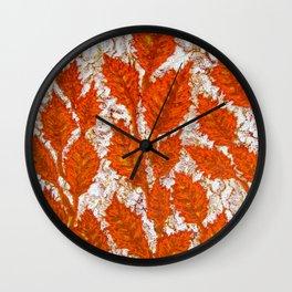 Happy autumn II Wall Clock