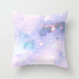 The Colors Of The Galaxy 2 Throw Pillow