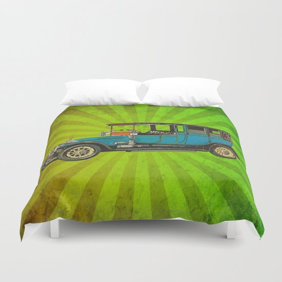 Vintage Car 02 Duvet Cover
