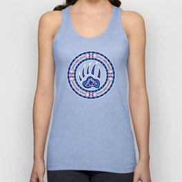 Bear Spirit (Blue) Unisex Tank Top