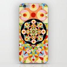 Pastel Carousel Black Circle iPhone & iPod Skin