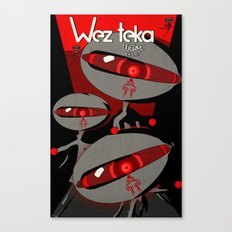 Always Watching - Wezteka Union Canvas Print