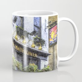 The Mayflower Pub London Art Coffee Mug