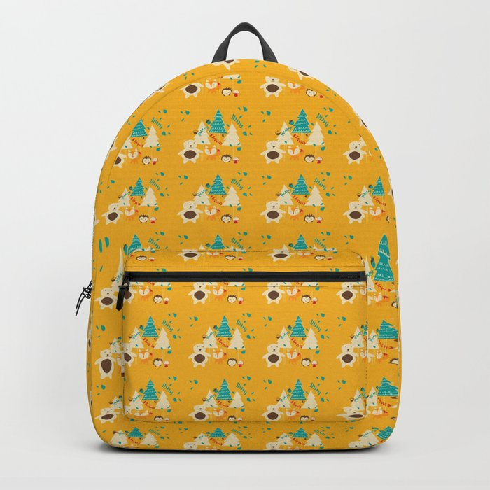 Woodland Christmas friends Backpack