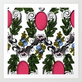 Corinthian Grapes Art Print