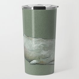 the white whale Travel Mug