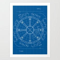 Project Midgar Art Print