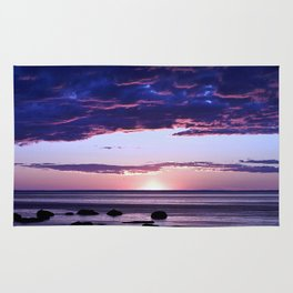 Coastal Sunset Sainte-Anne-Des-Monts Rug