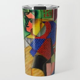 LE CYCLISTE (The Bicyclist) by Jean Metzinger Travel Mug