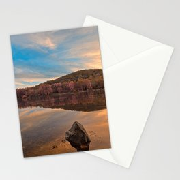 Point of Rocks Sunset - Pastel Fantasy Stationery Cards