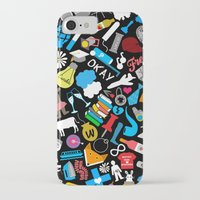 john green iPhone & iPod Cases featuring John Green Print by Yasmin Rahman