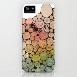 Circles VI iPhone Case