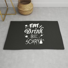 Halloween Rules - Eat, Drink, Be Scary Rug