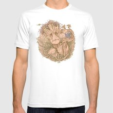 Groot Fan Art White 2X-LARGE Mens Fitted Tee