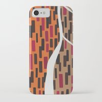 waterfall iPhone & iPod Cases featuring Waterfall by Sandyshow