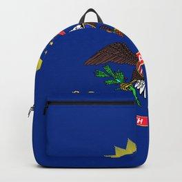 North Dakota State Flag Backpack