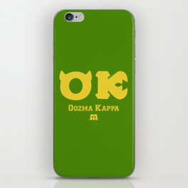 Oozma Kappa (Monsters University) iPhone Skin