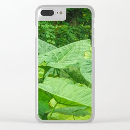 Florida: Lush Forest 3 Clear iPhone Case