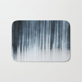 Abstract Forest Bath Mat