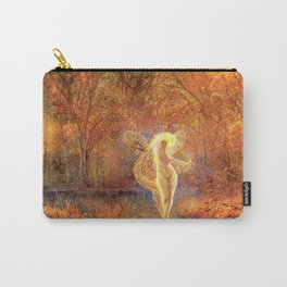 Dame Autumn by John Atkinson Grimshaw Carry-All Pouch